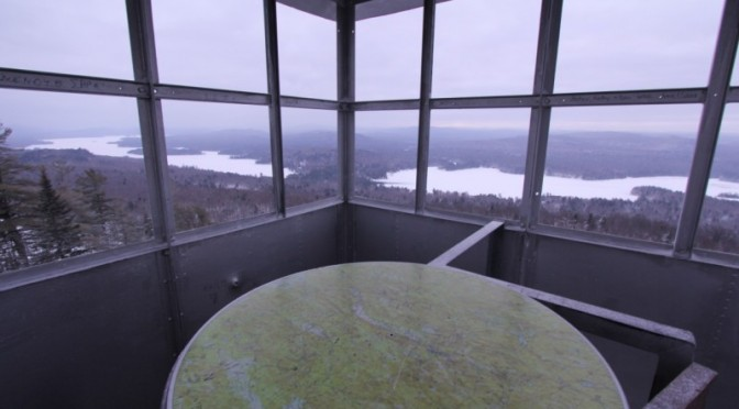 Bald Mountain Fire Tower (Rondaxe Mountain)