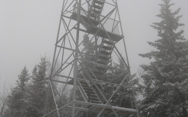 Owl's Head Mountain and Fire Tower