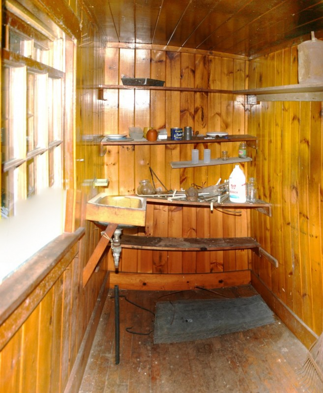Observer Cabin Kitchen (poor photo stitching!)