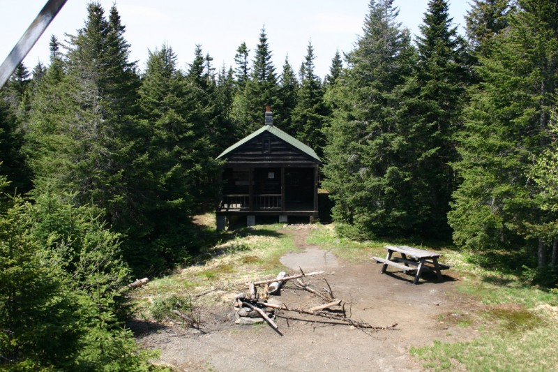 Observer Cabin from Tower Steps