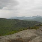 Cascade Mt towards Porter and High Peaks