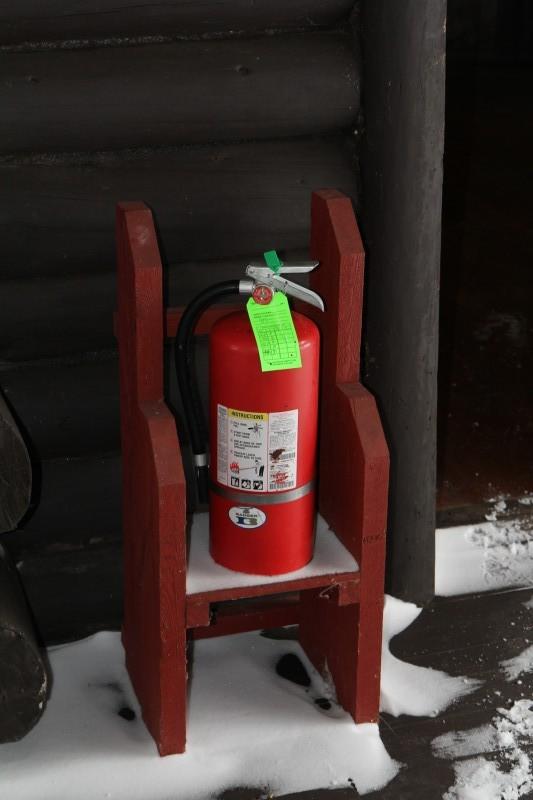 Camp Santanoni Fire Prevention - Prepared today for fire.