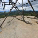 Hurricane Mountain Fire Tower Base