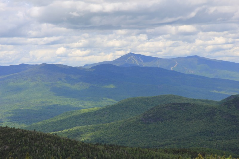 Whiteface Mountain from Hurricane Mountain