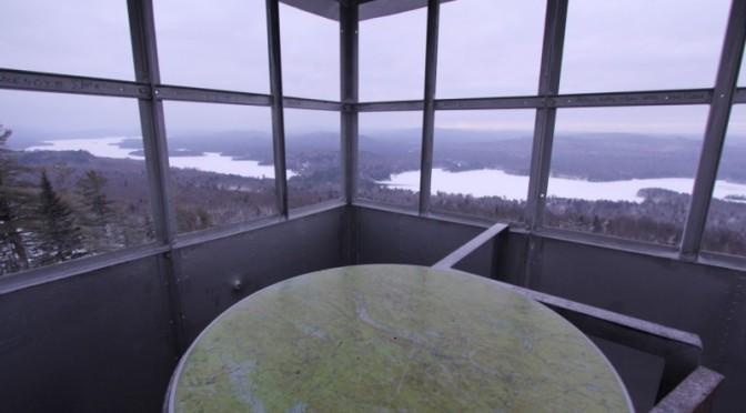 Bald Mountain Fire Tower (Rondaxe Mountain)