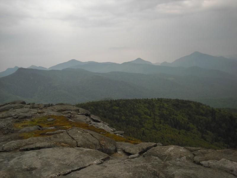 Cascade Mt towards High Peaks