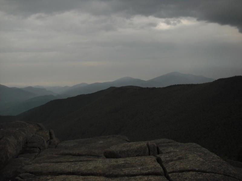 Cascade Mt towards Porter and Giant