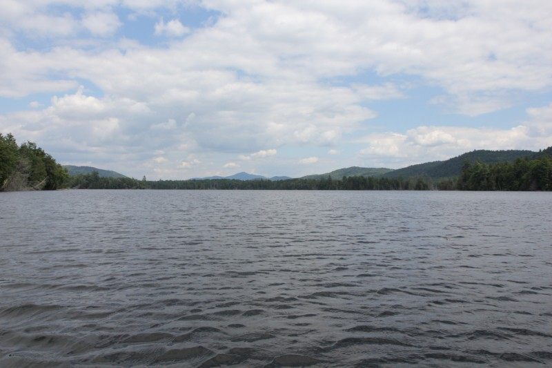 Essex Chain Lakes Third Lake Looking East
