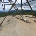 Hurricane Mountain Fire Tower Base
