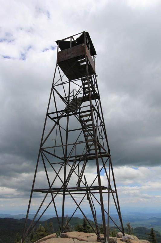 Hurricane Mountain Fire Tower