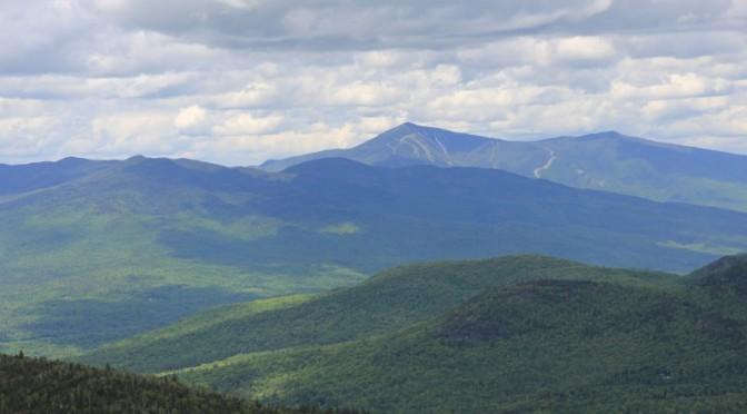 Whiteface Mountain from Hurricane Mountain