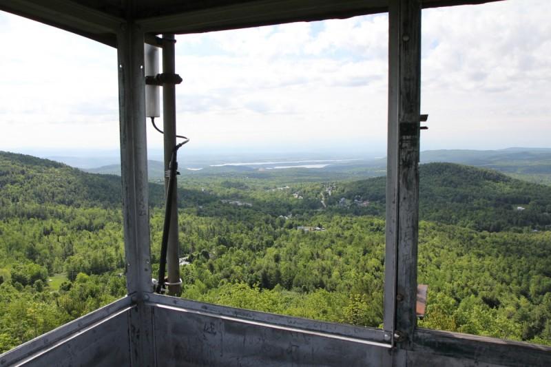 Belfry Mountain Fire Tower - Endless View