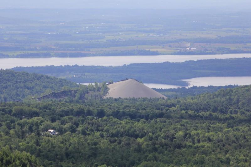 Belfry Mountain Fire Tower - Lake Champlain